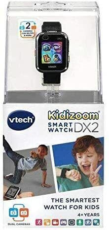 Vtech Kidizoom Smartwatcg DX2 Smartwatch for Kids BLACK - NEW