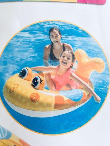 Intex Kinder Gummiboot Schlauchboot Fisch Pool Boot