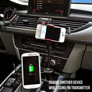 Universal-Car-Mount-Holder-USB-Charger-Radio-FM-Transmitter-for-iPhone-amp-Galaxy