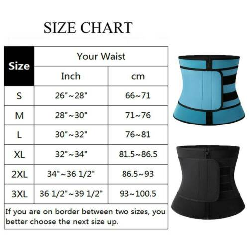 Ladies Waist Trainer Belt Waist Trimmer Slimming Body Shaper Sports Workout
