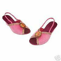 Disney Store Deluxe Enchanted Princess Giselle Dress Shoes Slippers Costume SOFT