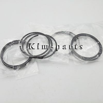 New 3 Sets Mitsubishi S3L S3L2 Skid Steer Loader Piston Ring Set 31A17-00010