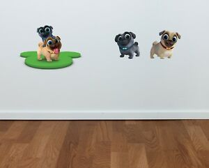 Puppy Dog Pals Bingo And Rolly Vinyl Sticker Bedroom Boys Girls Wall