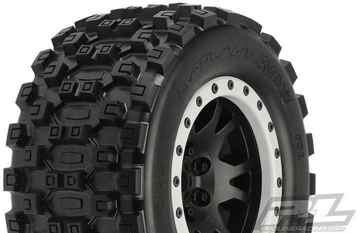 Proline 10131-13 Badlands MX43 Pro-Loc Kompletträder 2 Stk. für Traxxas X-Maxx