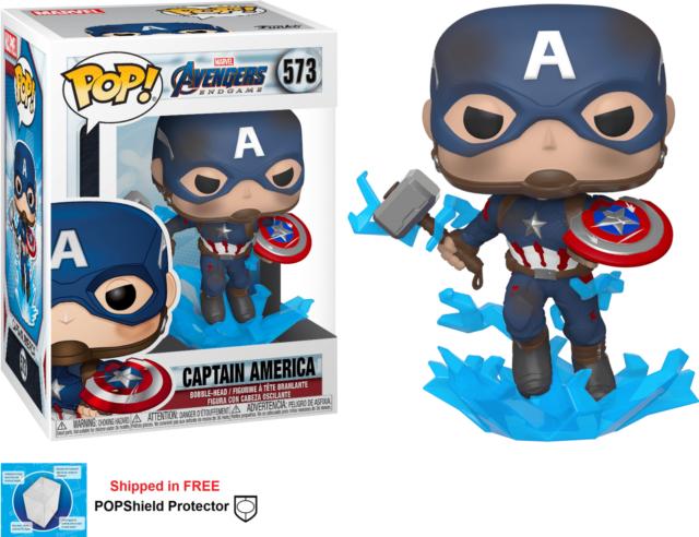 Captain America With Mjolnir Pop Funko
