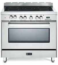 """Verona VEFSEE365SS 36"""" Electric Range 5 Elements Convection Oven Stainless Steel"""