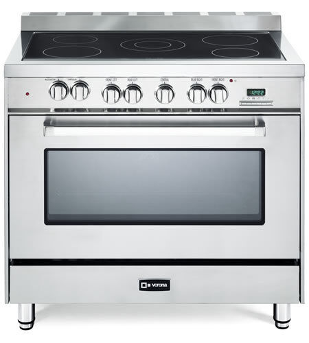 36 Electric Range >> Verona 36 Electric Range Stainless Steel Vefsee365ss