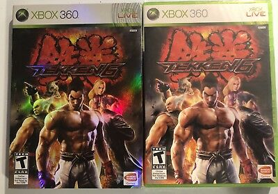 Tekken 6 Xbox 360 Black Label Game Limited Edition Slipcover Brand New Sealed 722674210263 Ebay