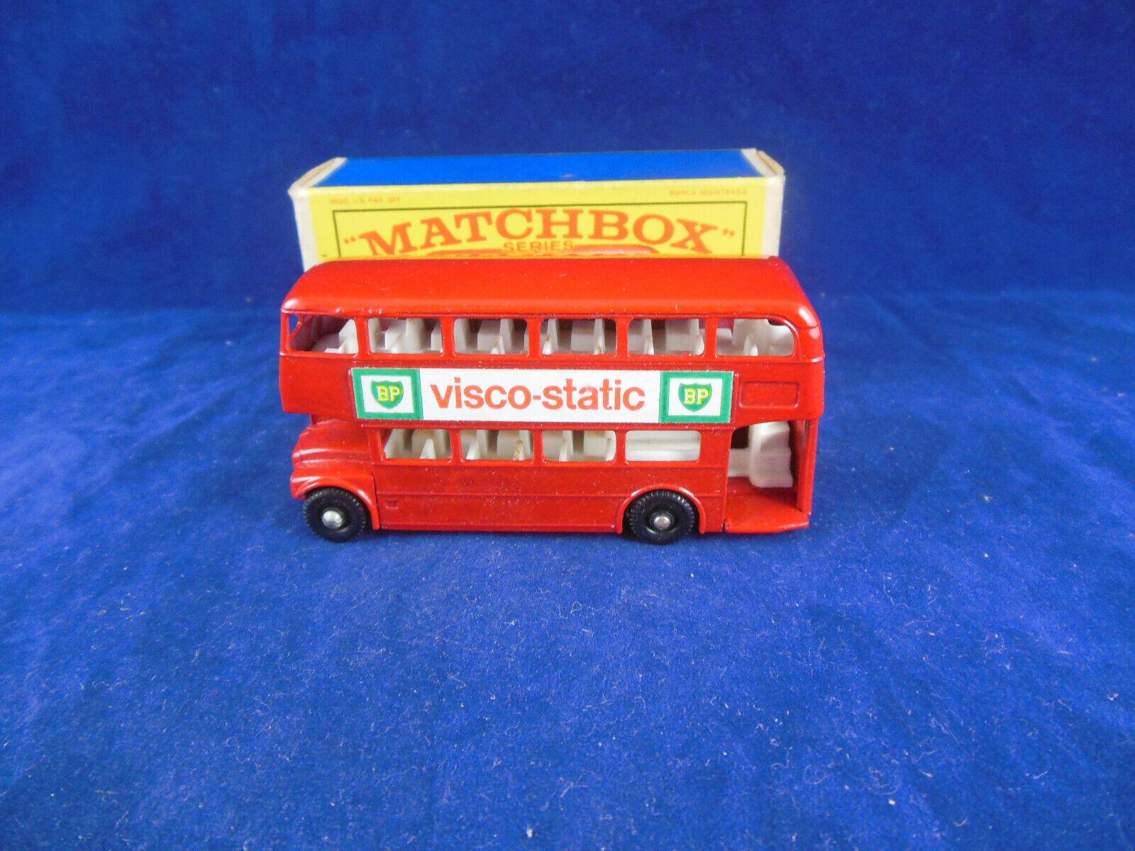Matchbox Regular ruedas 5 D Londres Routemaster Bus BP Visco estática