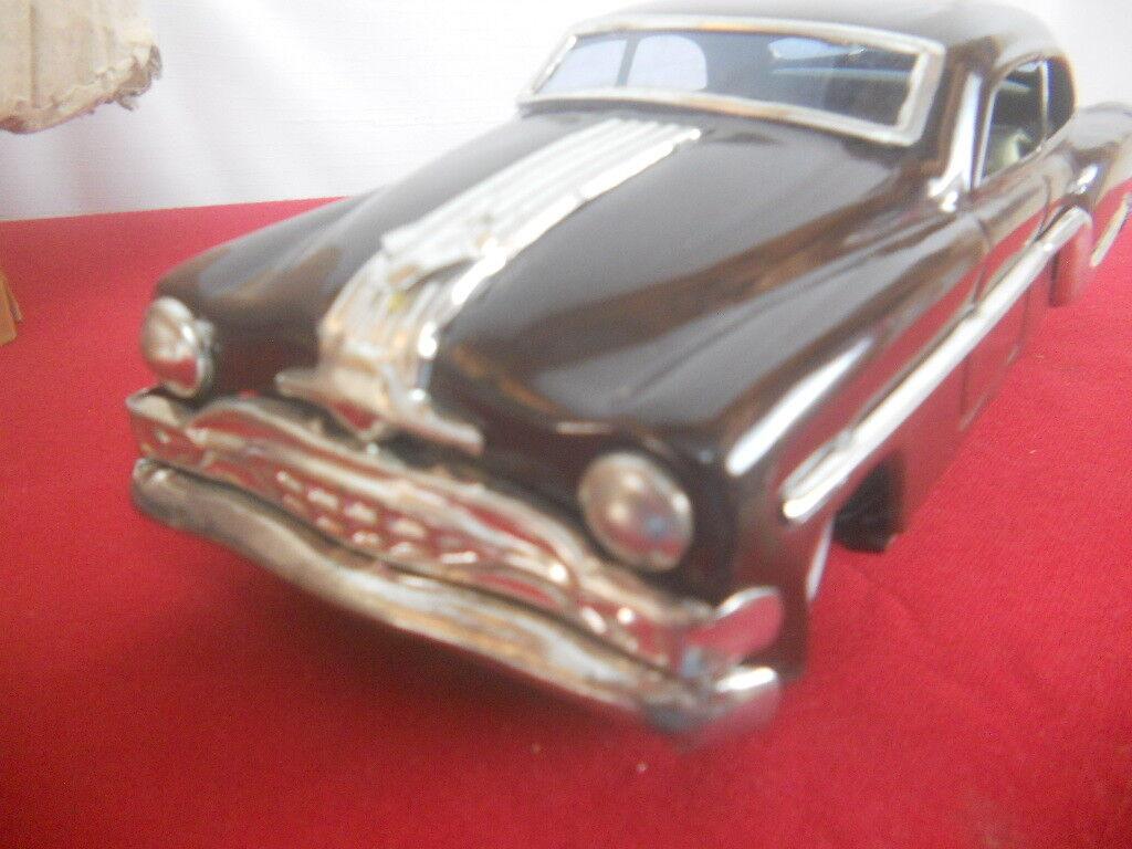 Marroneeeeeee VINTAGE MINISTER DELUX TIN FRICTION CAR CAR CAR IN ORIGINAL BOX f4554f