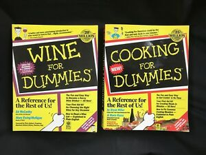 Lot Of 2 Wine Cooking For Dummies Book Ebay