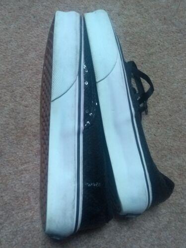 Us 5 uk Vans 3 Size 4 5 Sequin Black XBwqtS