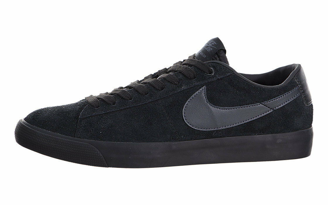 Nike BLAZER LOW GT Black Anthracite Casual Skate Discounted Price reduction Men's Shoes best-selling model of the brand