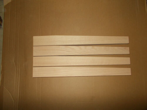 Red Oak wood table legs Tapered