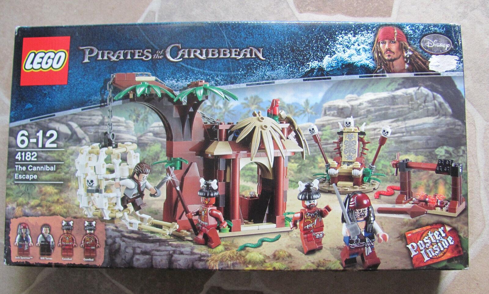 Lego Pirates of the Caribbean 4182 Flucht vor den Kannibalen Neu & OVP