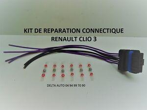 KIT-DE-REPARATION-FAISCEAU-FEU-ARRIERE-PORTE-LAMPES-RENAULT-CLIO-3-COMPLET-NEUF