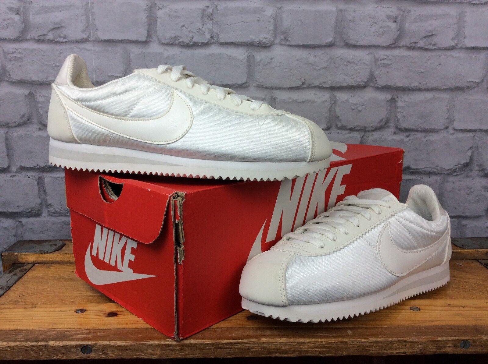 Nike Donna EU Osso 40 Luce Avorio Osso EU Classic Cortez Nylon   Da Ginnastica Rrp f09cc3