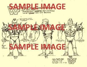 RARE WWF HASBRO HISTORY L.O.D HAWK
