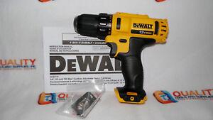New-DeWalt-DCD710-12V-MAX-Li-Ion-2-Speed-3-8-034-Drill-Driver-Bare-Tool