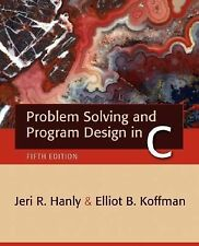 Problem Solving and Program Design in C (5th Edition)-ExLibrary