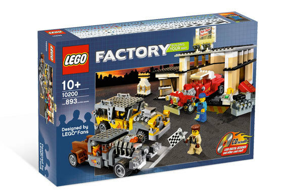 LEGO Factory Custom Car Garage 10200
