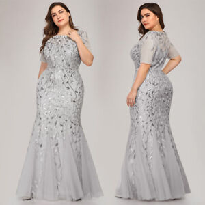 Ever-pretty-Plus-Size-Long-Mermaid-Evening-Dresses-Sequins-Cocktail-Prom-Gowns