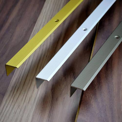 Treppenwinkelprofil GOLD Treppenstufenprofil Treppenkanten Treppe Profil