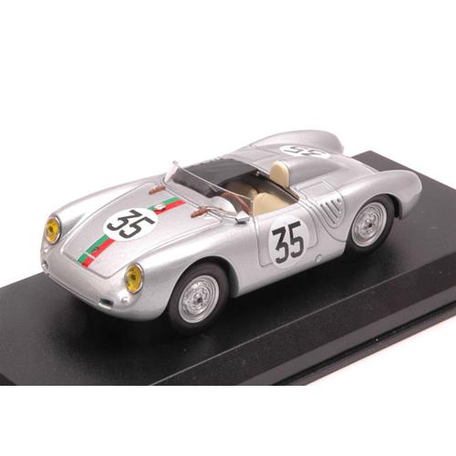 PORSCHE 550 RS N.35 19th LE MANS 1959 J.KERGUEN-R.LACAZE 1:43 Best Model