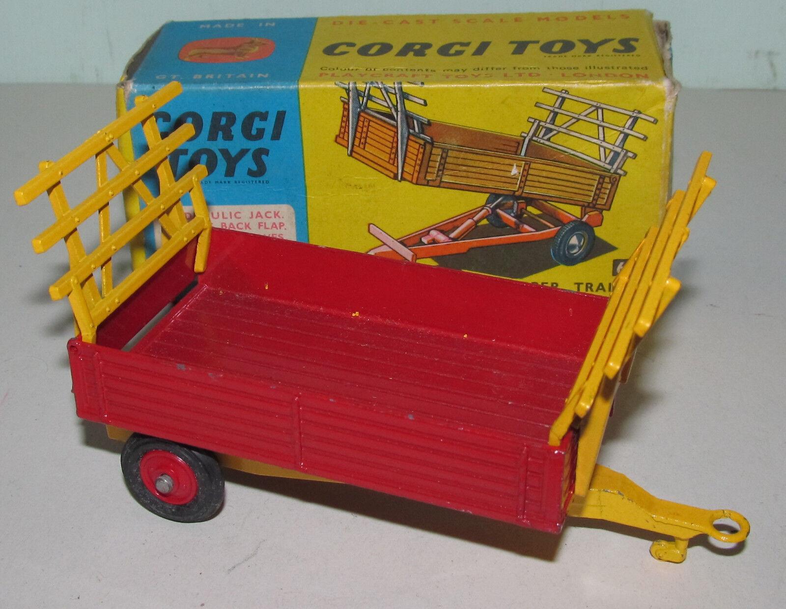 B corgi spielzeug 62 hof kippen - - - trailer 17e7f8