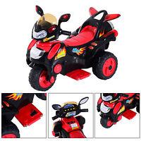 Elektromotorrad Kinderfahrzeug Kindermotorrad Kinder Elektro Auto Rot Schwarz