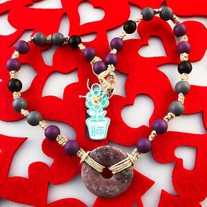 HOTI-Hemp-Handmade-Amethyst-Quartz-Purple-Donut-Healing-Stone-Wood-Bead-Necklace