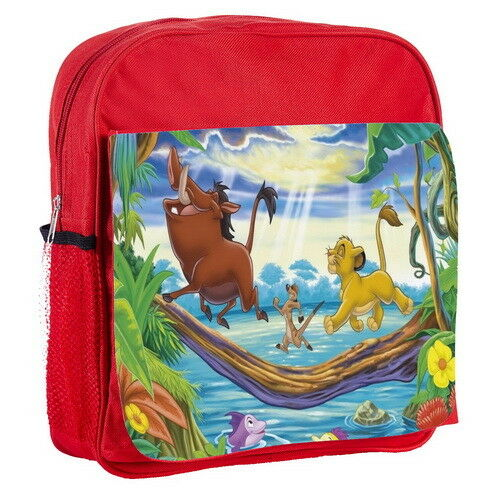 The Lion King New Kids Adjustable Strap Backpack p3/_01 w2032