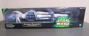 Combattant B-wing 2001 Star Wars Puissance du pilote Jedi Potj Mib W