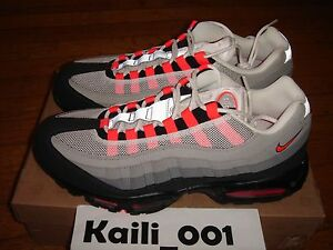 super popular 96755 1261b Image is loading Nike-Air-Max-95-Size-12-Solar-red-