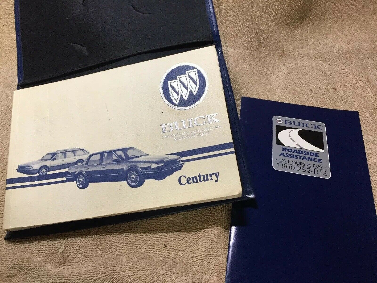 93 1993 Buick Century owners manual