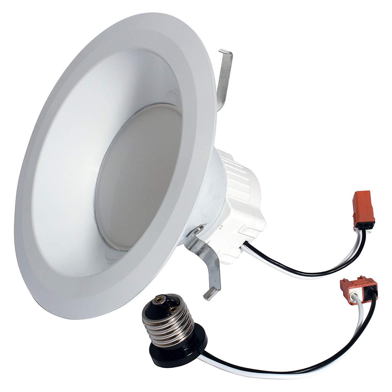 Ge Lighting LED Relax Alta Densidad 10-W (sustitución 65-W) Empotrado Kit (Lote de 8) 68578