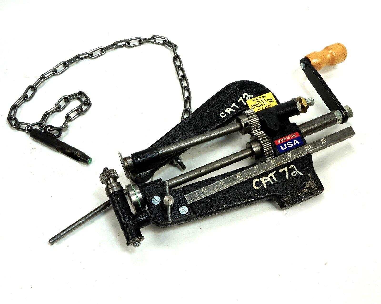 Allpax Allen M3, Rotary Style Gasket Cutting Machine