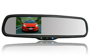 "Isuzu D-max Reverse Camera & Replacement Mirror 4.3""""autobrightness Oem Style Terrific Value Car Video"