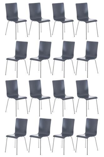 16er Set Besucherstuhl Pepe Stuhl Küchenstuhl Wartezimmerstuhl Konferenzstuhl