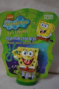 Spongebob squarepants mini aquarium fish tank ornament for Spongebob characters fish