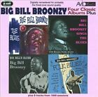 Four Classic Albums by Big Bill Broonzy (CD, Apr-2010, 2 Discs, Avid Roots)