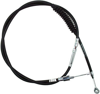 Volar Vinyl Wound Clutch Cable +3.5 in for 2008-2013 Harley Dyna Fat Bob FXDF