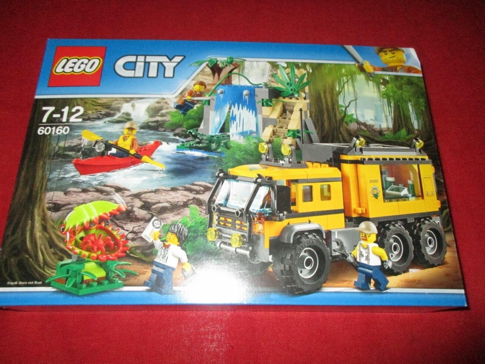 LEGO ® City 60160 Mobile jungle-Laboratoire Nouveau neuf dans  sa boîte  détaillants en ligne