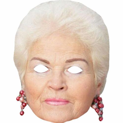 Pam St Clement Pat Butcher Celebrity Face Masks Eastenders Wholesale