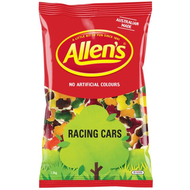 Allens Racing Cars 1.3kg bulk lollies