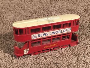 Matchbox-Models-of-Yesteryear-No-3-London-Transport-City-Rail-News-of-the-World