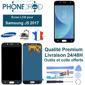 Ecran-complet-LCD-Tactile-Samsung-J5-2017-Noir-Qualite-OLED-Outils-stock-FR