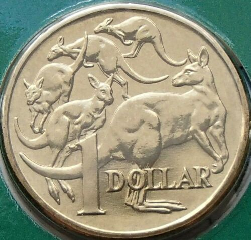 Choice Gem Ex Mint Set 1985 Australia One $1 Dollar Coin Uncirculated