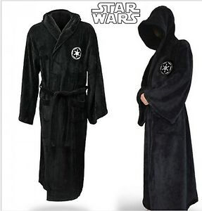 Star-Wars-Robe-Men-Bathrobe-Cosplay-Halloween-Darth-Vader-Costume-Sleep-Wear-New