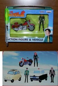 Lupin-3-III-Figure-Fujiko-Avec-Moto-Original-Banpresto-Japan-Nouveau-Margot